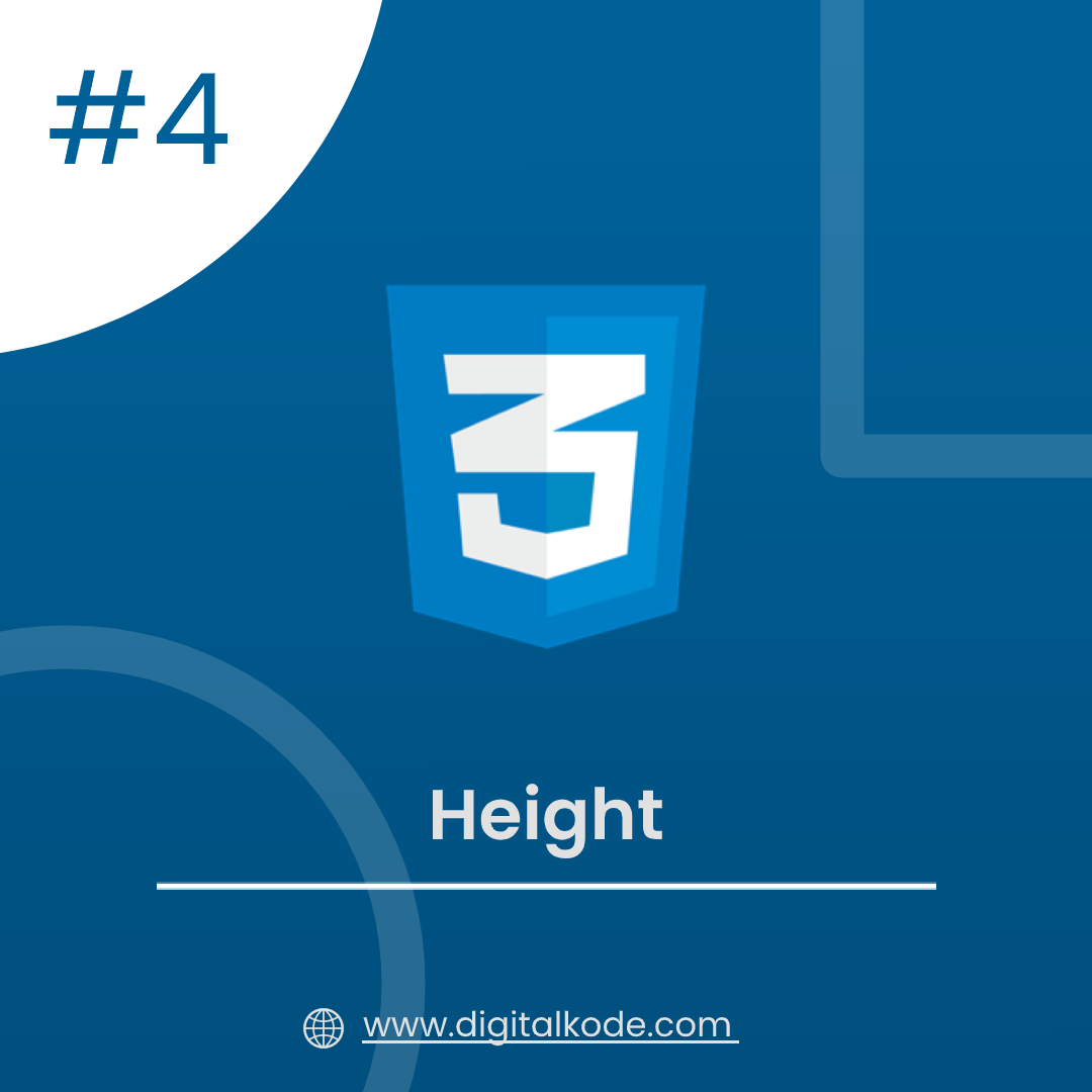 CSS SERIES #4 : HEIGHT